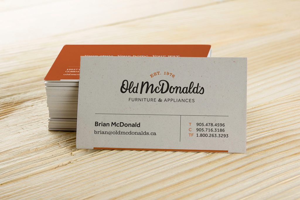 Old Mcdonald 39 S Logo And Stationery Design Rc Design